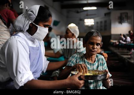 Indien Kolkata Kalkutta, Nirmal Hriday - reines Herz-Hospiz-Haus für das sterben an Kali Tempel, gegründet von Mutter - Stockfoto