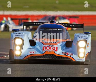 Le Mans Series Aston Martin in Silverstone - Stockfoto