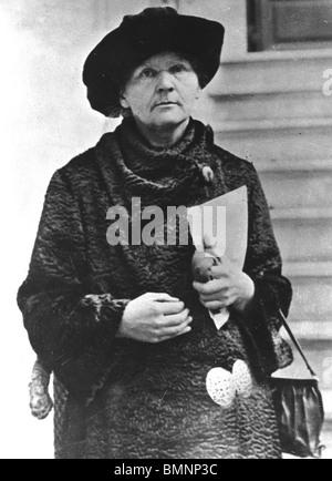 MARIE CURIE (1867-1934) Polen geborenen französischen Physiker und Nobelpreisträger für ihre Arbeiten an Radium - Stockfoto