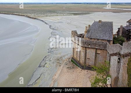Mont Saint-Michel, Manche Abteilung, Basse-Normandie, Frankreich - Stockfoto