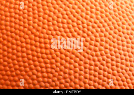 Orange Basketball Nahaufnahme Schuss - Stockfoto