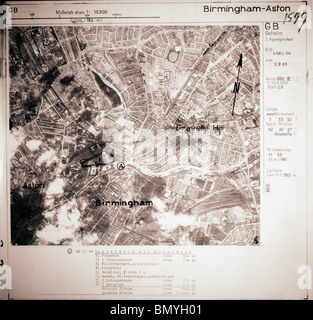 Aston & kiesigen Hill, Birmingham - Midlands 3. September 1939 Wasserwerk - Stockfoto