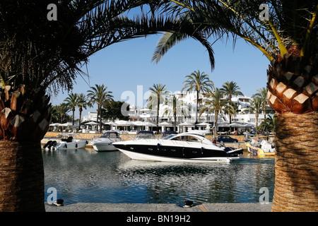 Blick auf Cala d ' or Marina, Mallorca - Stockfoto
