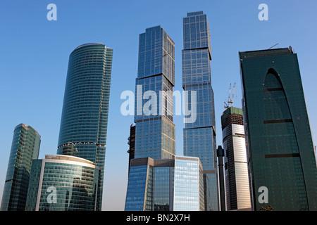 Moskau internationales Geschäftszentrum (Moskau), Moskau, Russland - Stockfoto