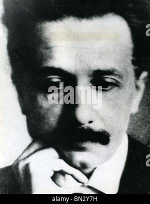 Deutschland geborene Physiker ALBERT EINSTEIN (1879-1955) - Stockfoto