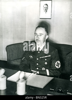 HEINRICH HIMMLER (1900-1945) NSDAP-Führer der SS im August 1944