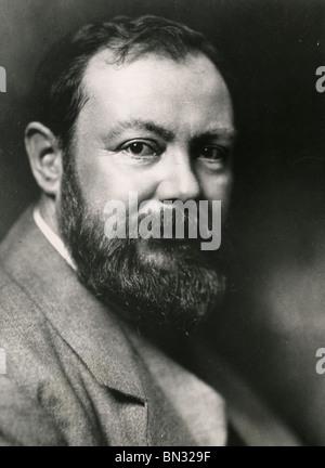 Französische Wissenschaftler PAUL HEROULT (1863 – 1914), der Aluminium-Elektrolyse erfunden - Stockfoto