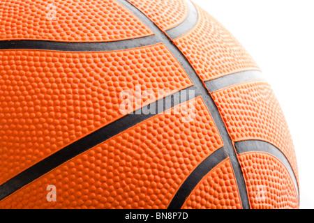 Orange Basketball Nahaufnahme Schuss