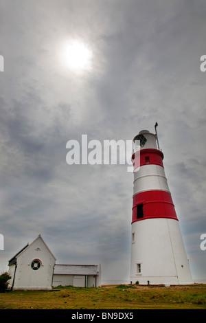 Orford Ness Leuchtturm; Suffolk - Stockfoto