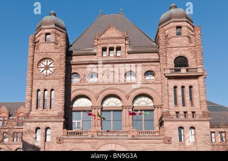 Legislativversammlung von Ontario, Queen es Park, Toronto, Ontario, Kanada - Stockfoto