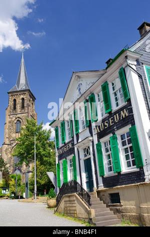 Das Deutsche Röntgen-Museum in Lennep - Stockfoto