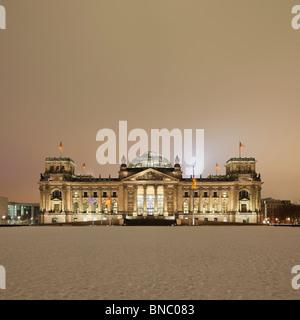 Der Reichstag - Stockfoto