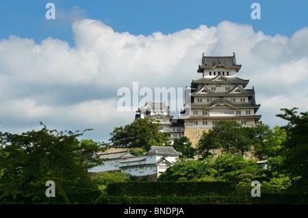 Burg Himeji, Präfektur Hyōgo, Kansai-Region, Insel Honshu, Japan - Stockfoto