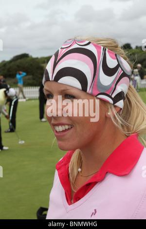 35. Ricoh Women es British Open in Royal Birkdale Golf Club, Southport, Merseyside, Großbritannien - Stockfoto