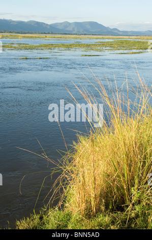 Atemberaubende Landschaft Simbabwes Mana Pools National Park - Stockfoto