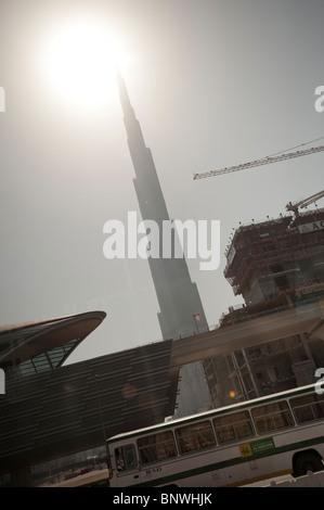 Burj Khalifa, Dubai, Vereinigte Arabische Emirate, Asien - Stockfoto
