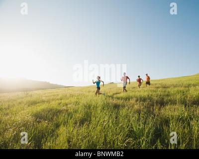 Trailrunning - Stockfoto