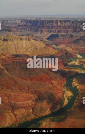 Eine phantastische Luftaufnahme des Grand canyon - Stockfoto
