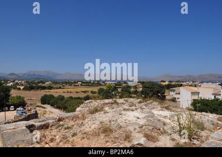 Altstadt von Alcudia, Mallorca - Stockfoto