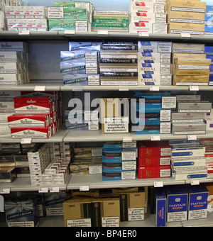 Zigaretten Duty Free Tschechien