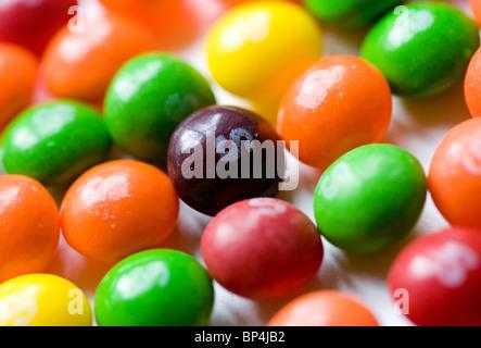 Kegeln-Candy. - Stockfoto