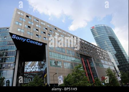 Sony Center Potsdamer Platz, Berlin Deutschland Deutschland Europa - Stockfoto
