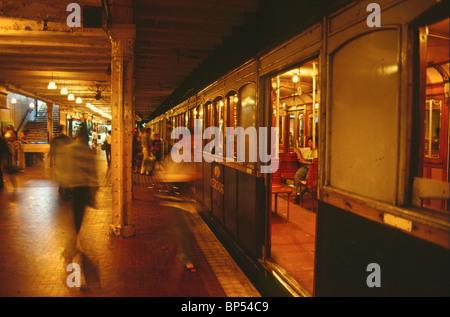 """""""Subte"""", U-Bahn von Buenos Aires - Stockfoto"""