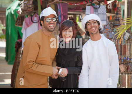 Nahen Osten Menschen lachen - Stockfoto