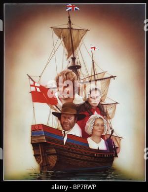 "ANTHONY HOPKINS, RICHARD CRENNA, Jenny Agutter, MAYFLOWER: der Pilger"" Abenteuer, 1979 - Stockfoto"