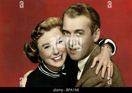 Juni Allyson, James Stewart, DIE GLENN MILLER STORY, 1954 - Stockfoto