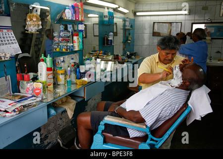 Friseur im Centro, Rio De Janeiro, Brasilien. - Stockfoto