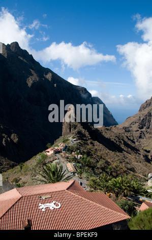 Verloren spanische Dorf Masca, Teneriffa - Stockfoto