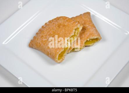 Hostess Zitrone Obstkuchen. - Stockfoto