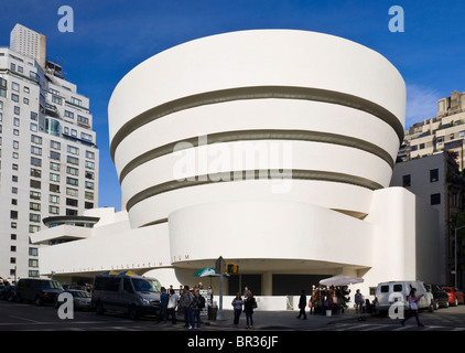Das Guggenheim Museum, New York City. Frank Lloyd Wright, Architekt. - Stockfoto