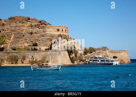 Spinalonga, Agios Nikolaos, Crete - Stockfoto