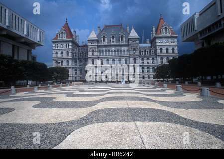 Die New York State Capitol Gebäude in Albany, New York. - Stockfoto