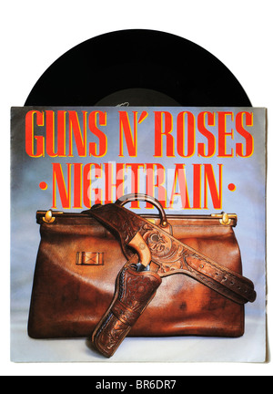 Guns n' Roses Nightrain Einzel- - Stockfoto