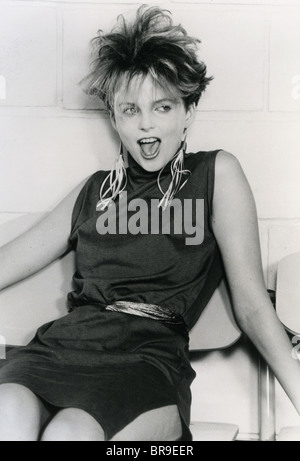 VERÄNDERTE Bilder Promo-Foto von Sängerin Clare Grogan der 1980er Jahre Scottish neu Wellengruppe - Stockfoto