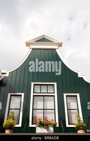 Niederländischen typischen historischen Haus in Volendam. Holland - Stockfoto