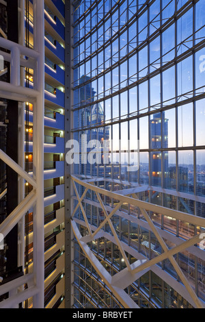 Moderne luxus büro  Moderne Architektur im Inneren ein Luxus Büro- und Hotelgebäude ...