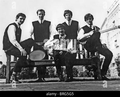 ZOMBIES-Promo-Foto der UK-pop-Gruppe im Jahr 1964 - Stockfoto