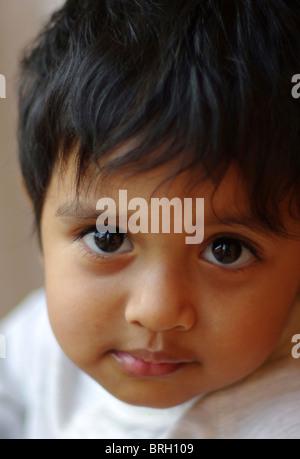 Kind-Porträt - Stockfoto