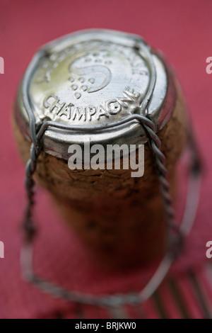 Flasche Champagner Draht Kappen Stockfoto, Bild: 43907898 - Alamy
