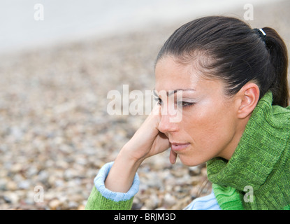 Porträt der Frau - Stockfoto