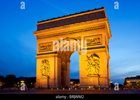 Paris, Place Charles de Gaulle - Stockfoto