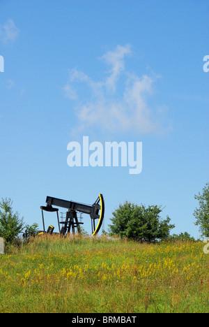 Ölpumpe - Ölpumpe 04 - Stockfoto
