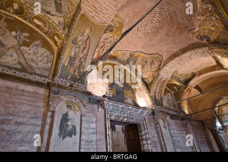 Jesus-Mosaik in Chora Museum Istanbul Türkei - Stockfoto