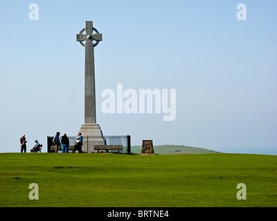 Tennyson Memorial, Isle Of Wight - Stockfoto