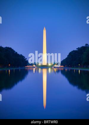 Washington Denkmal DC - Stockfoto