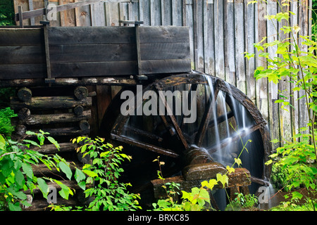 Die John P Cable Grist Mühlen in den Great Smoky Mountains National Park - Stockfoto